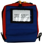 EMT Drug Case Blue Orange w/insert