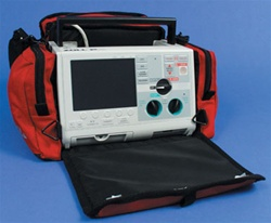 "ZOLL ""M"" Series Defibrillator Case, Red"